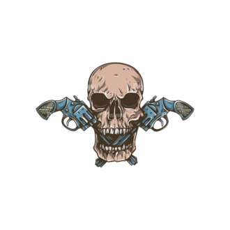 Skull Vector Clipart 31-1 Clip Art - SVG & PNG vector