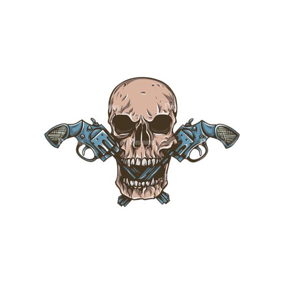 Skull Vector Clipart 31-1 skulls pack 31 1 preview