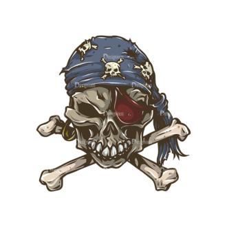 Skull Vector Clipart 31-5 Clip Art - SVG & PNG vector