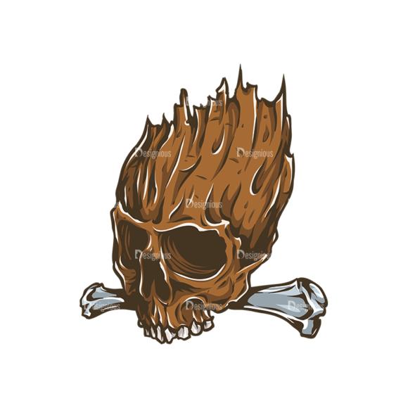 Skull Vector Clipart 31-6 skulls pack 31 6 preview