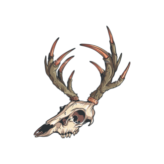 Skull Vector Clipart 32-3 Clip Art - SVG & PNG vector