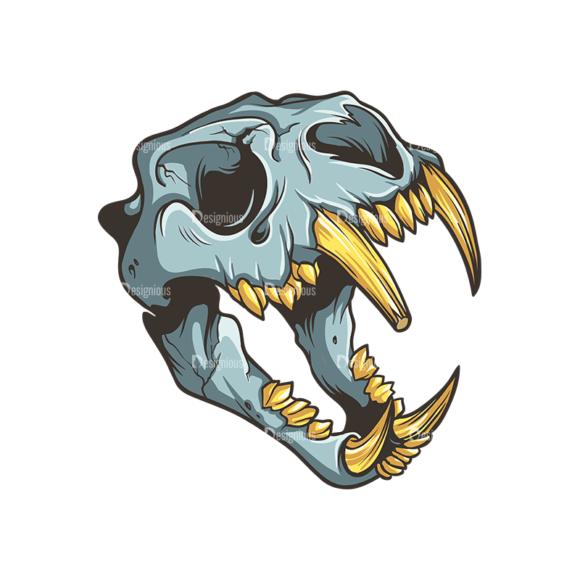 Skull Vector Clipart 32-4 Clip Art - SVG & PNG vector