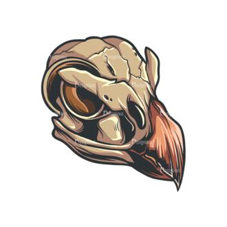 Skull Vector Clipart 33-2 Clip Art - SVG & PNG vector
