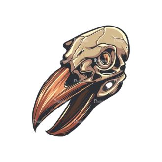 Skull Vector Clipart 33-6 Clip Art - SVG & PNG vector