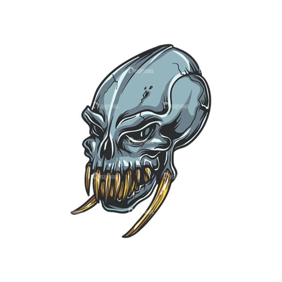 Skull Vector Clipart 34-1 skulls pack 34 1 preview