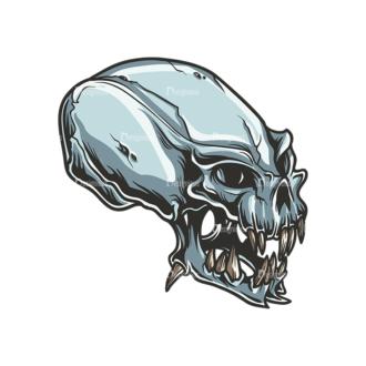 Skull Vector Clipart 34-2 Clip Art - SVG & PNG vector