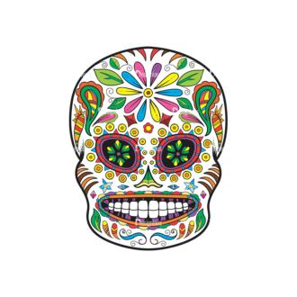 Skull Vector Clipart 36-3 Clip Art - SVG & PNG vector