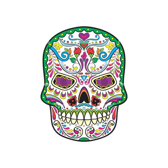 Skull Vector Clipart 36-5 Clip Art - SVG & PNG vector
