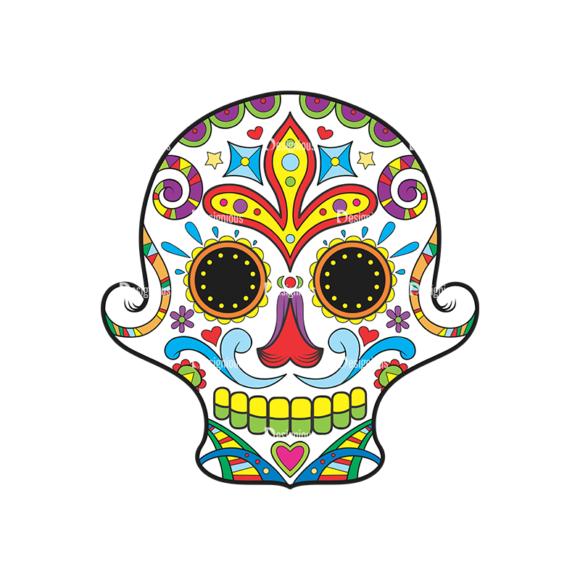 Skull Vector Clipart 37-1 Clip Art - SVG & PNG vector