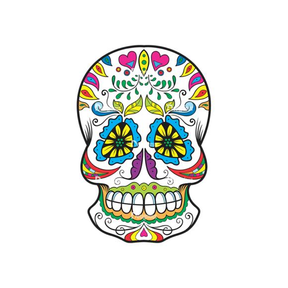 Skull Vector Clipart 37-2 Clip Art - SVG & PNG vector