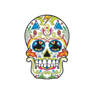 Skull Vector Clipart 37-5 Clip Art - SVG & PNG vector