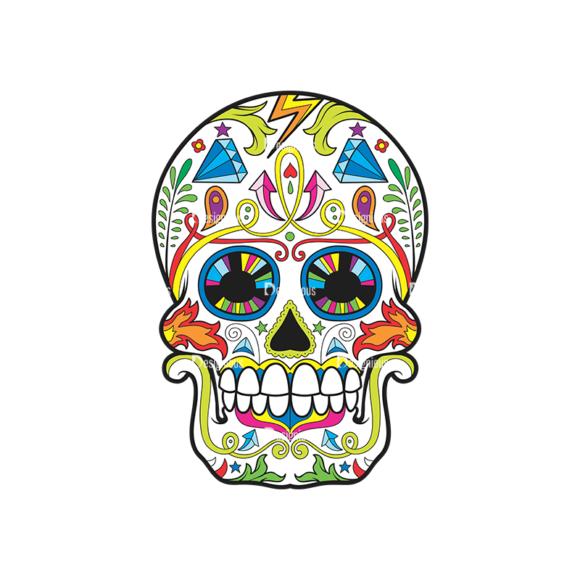 Skull Vector Clipart 37-5 skulls pack 37 5 preview