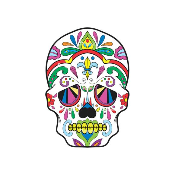 Skull Vector Clipart 38-2 Clip Art - SVG & PNG vector