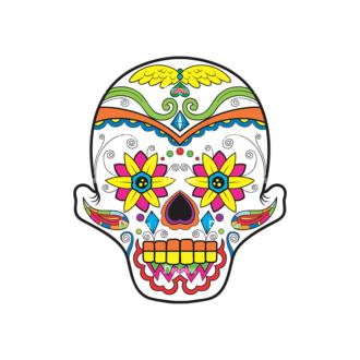 Skull Vector Clipart 38-4 Clip Art - SVG & PNG vector