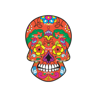 Skull Vector Clipart 38-6 Clip Art - SVG & PNG vector