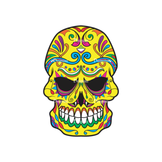 Skull Vector Clipart 39-3 Clip Art - SVG & PNG vector