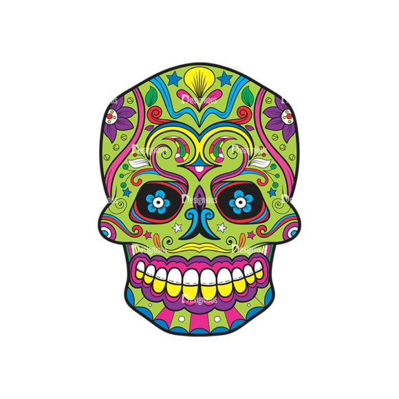 Skull Vector Clipart 39-4 skulls pack 39 4 preview