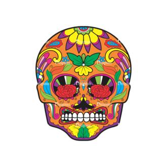Skull Vector Clipart 39-6 Clip Art - SVG & PNG vector
