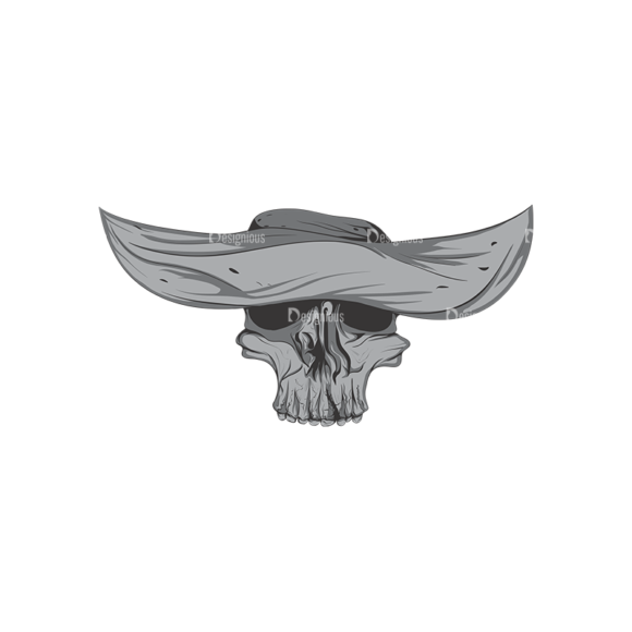Skull Vector Clipart 4-10 Clip Art - SVG & PNG vector