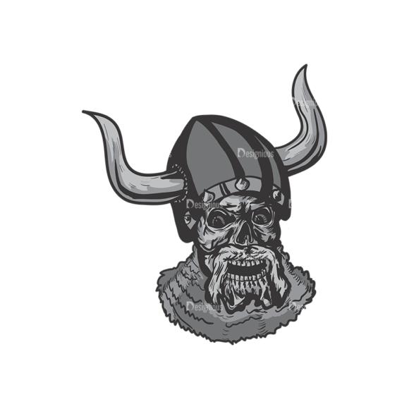 Skull Vector Clipart 4-11 skulls pack 4 11 preview