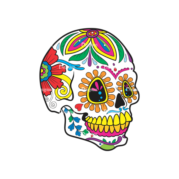Skull Vector Clipart 40-1 Clip Art - SVG & PNG vector