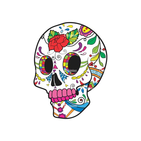 Skull Vector Clipart 40-2 Clip Art - SVG & PNG vector