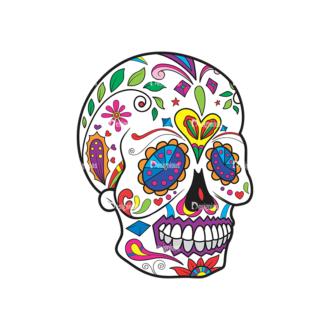 Skull Vector Clipart 40-3 Clip Art - SVG & PNG vector
