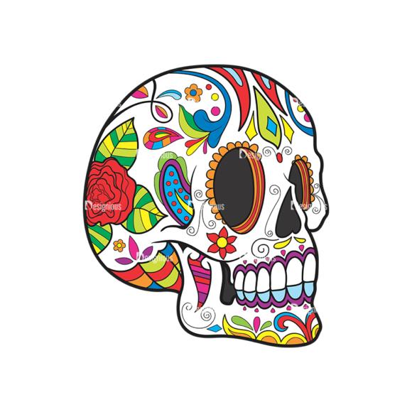 Skull Vector Clipart 40-4 Clip Art - SVG & PNG vector