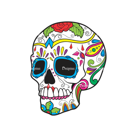 Skull Vector Clipart 40-5 skulls pack 40 5 preview