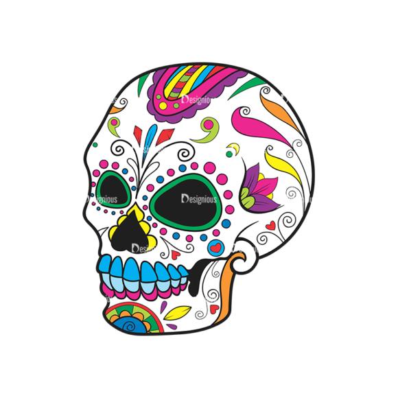 Skull Vector Clipart 40-6 Clip Art - SVG & PNG vector
