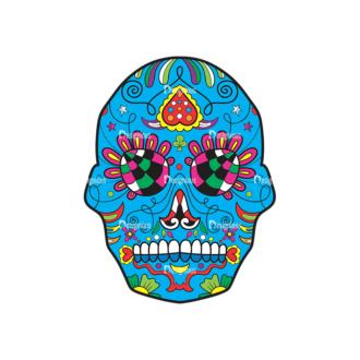 Skull Vector Clipart 41-1 Clip Art - SVG & PNG vector