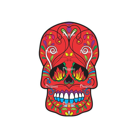 Skull Vector Clipart 41-2 Clip Art - SVG & PNG vector