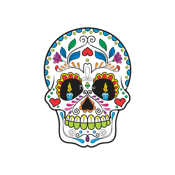 Skull Vector Clipart 41-3 Clip Art - SVG & PNG vector