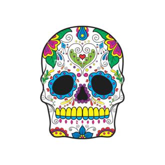 Skull Vector Clipart 41-5 Clip Art - SVG & PNG vector