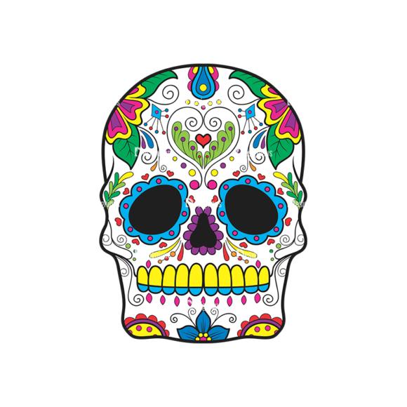 Skull Vector Clipart 41-5 1