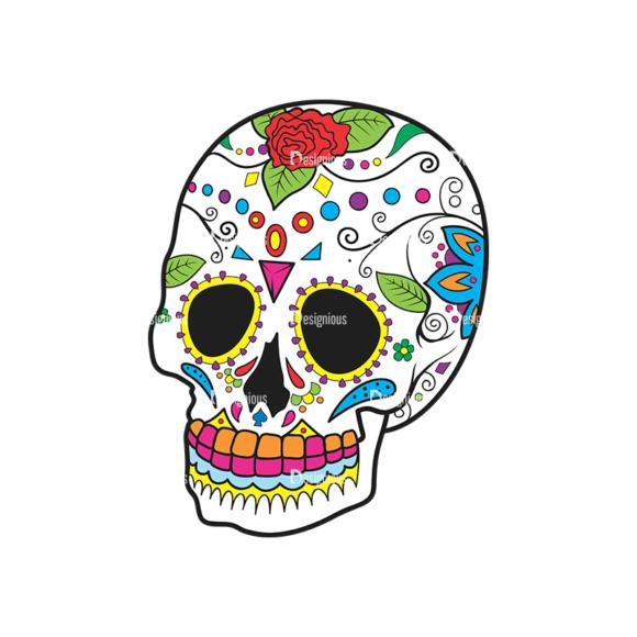 Skull Vector Clipart 42-1 Clip Art - SVG & PNG vector