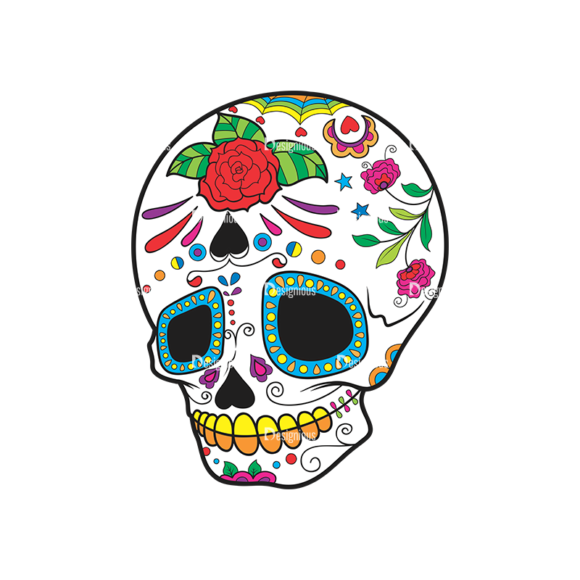 Skull Vector Clipart 42-2 skulls pack 42 2 preview