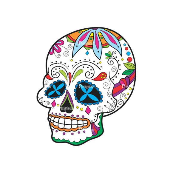 Skull Vector Clipart 42-4 Clip Art - SVG & PNG vector
