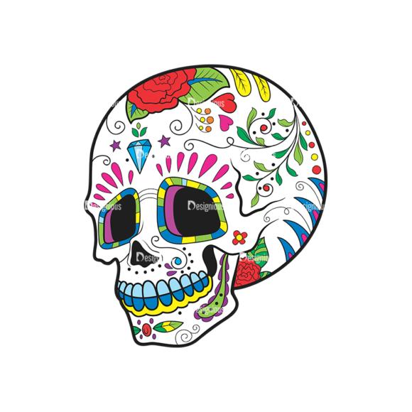 Skull Vector Clipart 42-5 skulls pack 42 5 preview