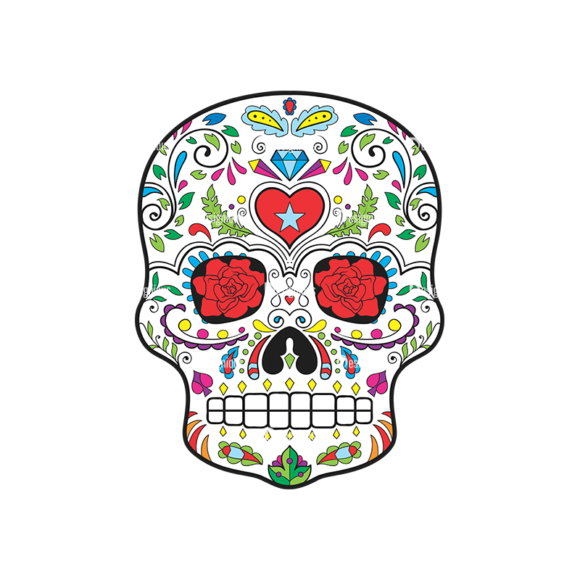 Skull Vector Clipart 43-2 skulls pack 43 2 preview