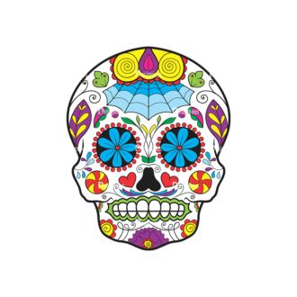 Skull Vector Clipart 43-4 Clip Art - SVG & PNG vector