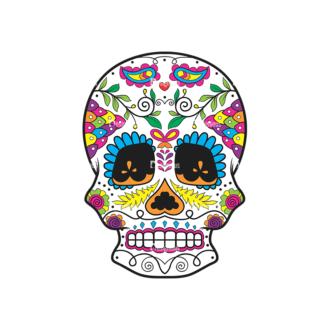 Skull Vector Clipart 43-5 Clip Art - SVG & PNG vector