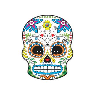 Skull Vector Clipart 43-6 Clip Art - SVG & PNG vector