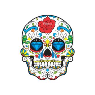 Skull Vector Clipart 44-1 Clip Art - SVG & PNG vector
