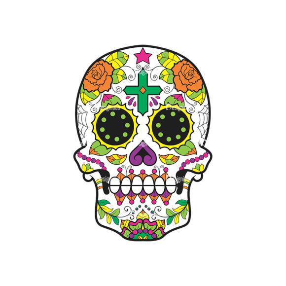 Skull Vector Clipart 44-2 skulls pack 44 2 preview