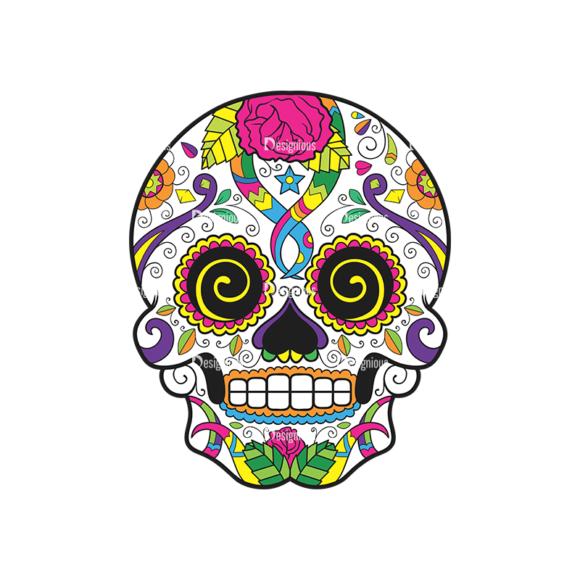Skull Vector Clipart 44-4 Clip Art - SVG & PNG vector