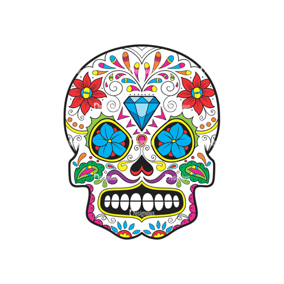 Skull Vector Clipart 44-5 Clip Art - SVG & PNG vector