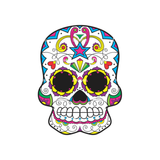 Skull Vector Clipart 44-6 Clip Art - SVG & PNG vector
