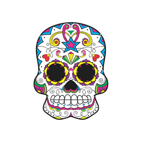 Skull Vector Clipart 44-6 skulls pack 44 6 preview