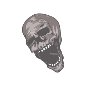 Skull Vector Clipart 5-1 Clip Art - SVG & PNG vector